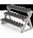 Rack horizontal mancuernas Modelo DAGI08