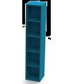 Locker Metalico de 5 Sin Puertas Modelo LK05-SP